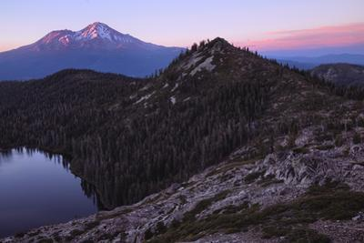 Summer Sunset, Castle Lake Overlook Mount Shasta Northern California by Vincent James