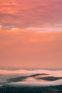 Summer Sunset Mood Over Mill Valley, San Francisco by Vincent James
