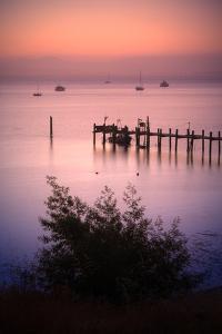 Sunrise at China Camp, San Pablo Bay California by Vincent James