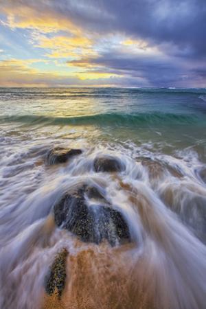 Sunrise at Kapa'a Beach, Kauai Hawaii by Vincent James