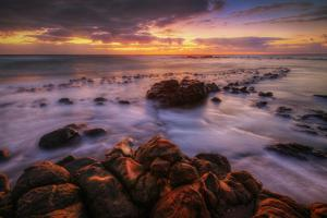 Sunrise at Kapaa, Kauai Hawaii by Vincent James