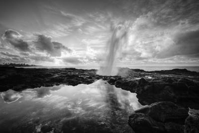 Sunrise at Spouting Horn, South Kauai by Vincent James