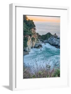 Sunrise Cove and Waterfall, McWay Falls, Big Sur California Coast by Vincent James