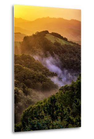 Sunrise Mood Northern California Hills, Mount Diablo