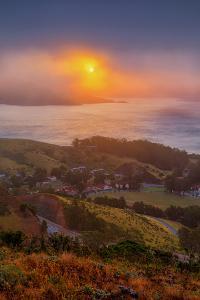 Sunrise Near Fort Baker, San Francisco Marin Headlands by Vincent James