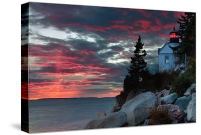Sunset at Bass Harbor