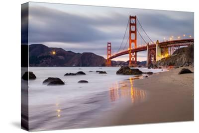 Sunset at Marshall Beach, Golden Gate Bridge, San Francisco California