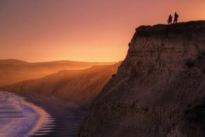 Sunset Bluff Walk, Point Reyes National Seashore, Northern California by Vincent James
