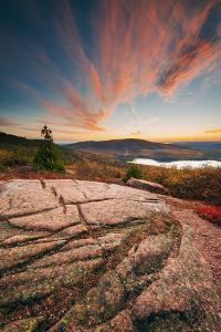 Sunset Cloudscape at Cadillac Mountain, Acadia National Park, Maine by Vincent James