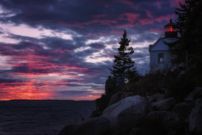 Sunset Pillars at Bass Harbor, Acadia National Park by Vincent James