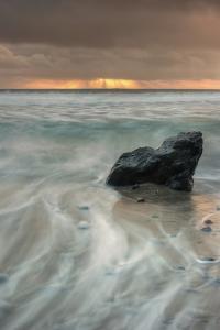 Sunset Rock Seascape by Vincent James