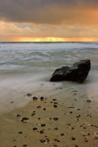 Sunset Rocks by Vincent James