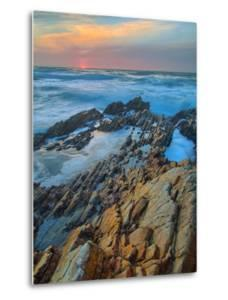 Sunset Seascape at Montaña de Oro by Vincent James
