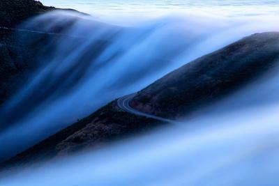 Super Fog Sweep Over Marin Headlands Coast Fog Wave San Francisco by Vincent James