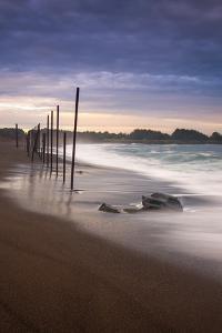 Surreal Beachscape, Mendocino Coast California by Vincent James