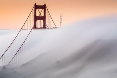 Surreal Fog Golden Gate Sutro Tower Special Rare Moment San Francisco by Vincent James