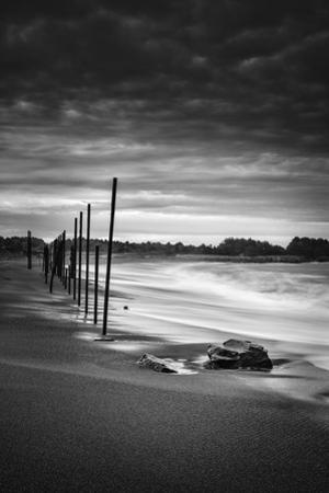 Surreal Moody Beach Scene, Fort Bragg Mendocino California by Vincent James