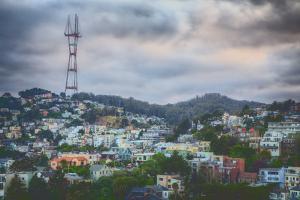 Sutro Tower Hillside, San Francisco by Vincent James