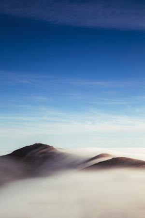 Sweeping Beauty, Sky and Fog Over Marin Headlands, San Francisco California by Vincent James