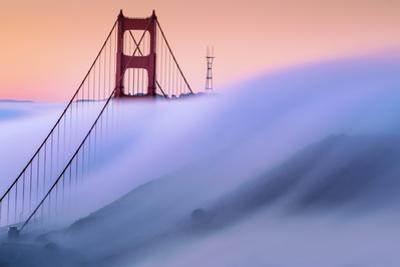 Sweeping Surreal Fog Golden Gate Sutro Tower Special Rare Moment San Francisco by Vincent James