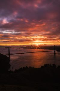 Sweet Moody Morning, Marin Headlands, Golden Gate, San Francisco by Vincent James