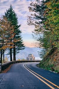 The Road to Vista House, Columbia River Gorge, Oregon by Vincent James