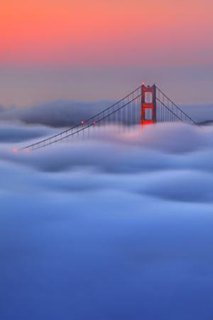 Twilight Golden Gate Special Rare Fog Pre Dawn San Francisco by Vincent James