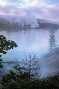 Velvet Morning, Yellowstone River by Vincent James