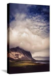 Vestrahorn Mountains Beach & Cloud Drama Southern Iceland Summer by Vincent James