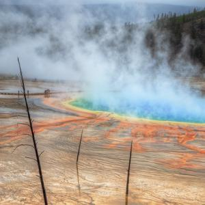 Visit The Grand Prismatic, Yellowstone by Vincent James