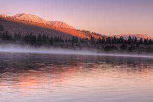 Warm Morning Light at June Lake, Sierra Nevada by Vincent James