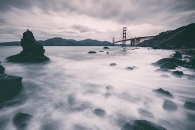 Water Movement at Marshall Beach - Golden Gate Bridge, San Francisco by Vincent James