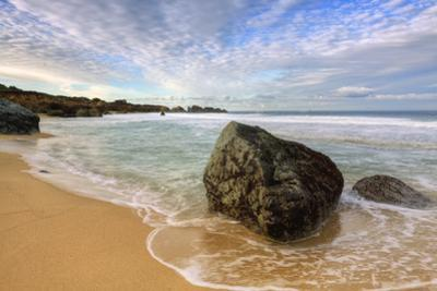 Wide Morning Seascape at Garrapata State Beach, California Coast by Vincent James