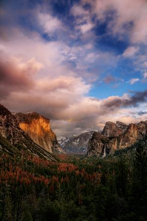 Yosemite Valley Storm and Morning Light, National Parks by Vincent James