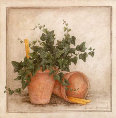 Lierre et Pots I by Vincent Jeannerot