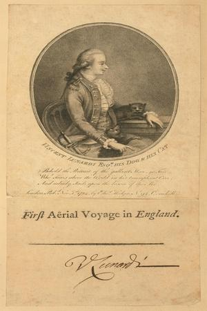 Vincent Lunardi, 1784--Giclee Print