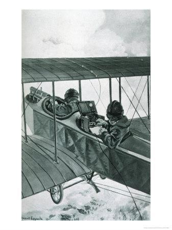 Plane with Telegraph