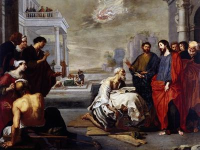 Christ Healing the Paralytic