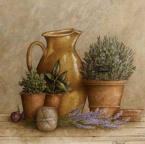 Cruche et Pot de Romarin by Vincent Perriol