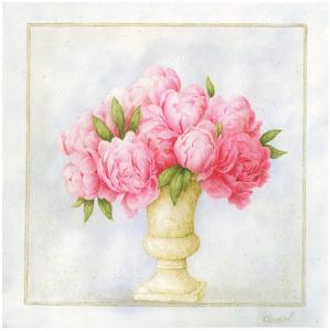 Vase Fin De Roses by Vincent Perriol