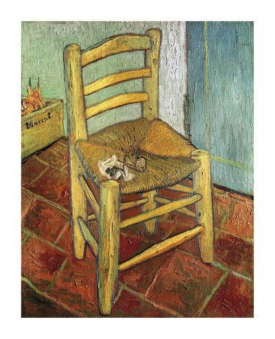 Vincent's Chair, 1888-Vincent van Gogh-Premium Giclee Print