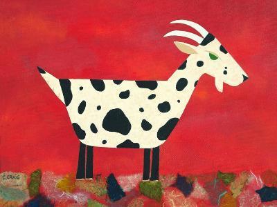 Vincent Van Goat-Casey Craig-Art Print