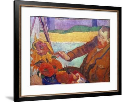 Vincent Van Gogh (1853-1890)-Vincent van Gogh-Framed Giclee Print