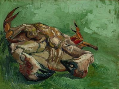 A Crab, Lying on His Back, 1889 by Vincent van Gogh