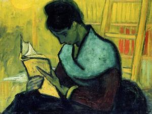 A Novel Reader by Vincent van Gogh