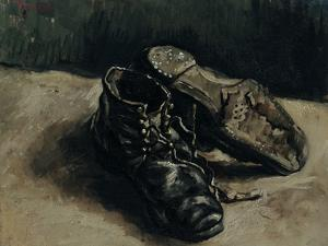 A Pair of Shoes, 1886 by Vincent van Gogh