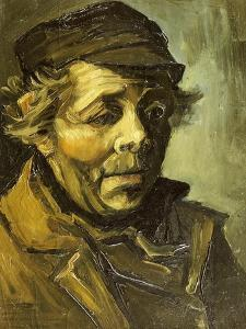 A Peasants Head (A Study for the Potato Eaters), c.1885 by Vincent van Gogh
