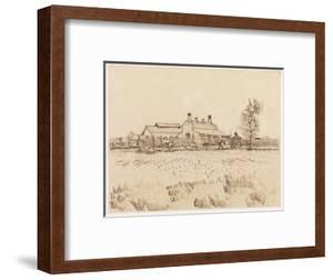 A tile factory, 1888 (March) by Vincent Van Gogh