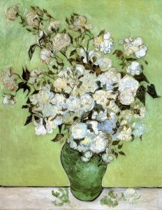 A Vase of Roses, c.1890 by Vincent van Gogh