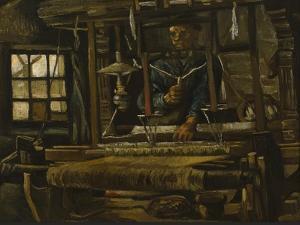 A Weaver's Cottage, 1884 by Vincent van Gogh